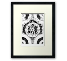Collision Framed Print