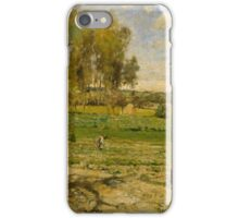 Camille Pissarro - Giverny French Impressionism Landscape iPhone Case/Skin