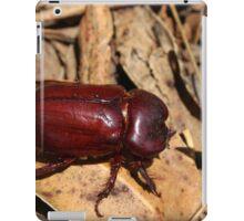 Beetle on a Dry Leaf iPad Case/Skin
