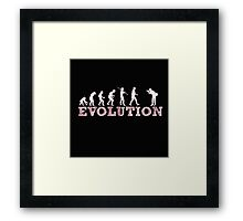 Evolution Photographer Framed Print