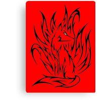 Demon fox Canvas Print