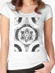 Collision Women's Fitted Scoop T-Shirt