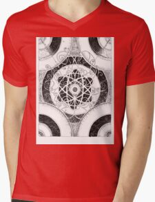 Collision Mens V-Neck T-Shirt