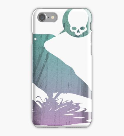 Pissed off crow! iPhone Case/Skin