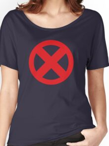 X-Men Red Logo Women's Relaxed Fit T-Shirt