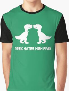 T-Rex Hates High Fives Graphic T-Shirt