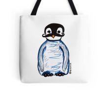Penguin Mustache Tote Bag