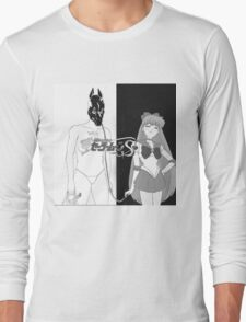 Death Grips with sailor venus as the girl instead of  Long Sleeve T-Shirt