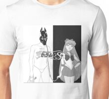Death Grips with sailor venus as the girl instead of  Unisex T-Shirt