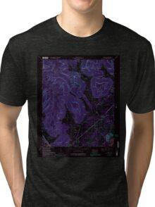 USGS TOPO Map Alabama AL Doran Cove 303699 1967 24000 Inverted Tri-blend T-Shirt