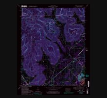 USGS TOPO Map Alabama AL Doran Cove 303699 1967 24000 Inverted Unisex T-Shirt