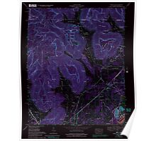USGS TOPO Map Alabama AL Doran Cove 303699 1967 24000 Inverted Poster