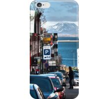 Streets of Reykjavik iPhone Case/Skin