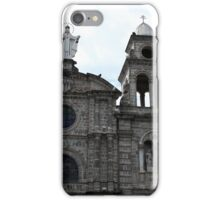 Virgin Mary and Bell Tower iPhone Case/Skin