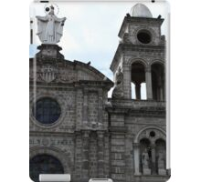 Virgin Mary and Bell Tower iPad Case/Skin