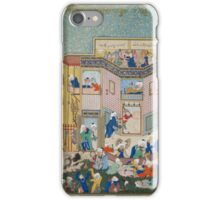 Sultan Muhammad, Allegory of Worldly and Otherworldly Drunkenness,  iPhone Case/Skin