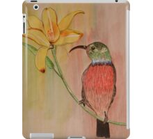 Colorful Honeysucker iPad Case/Skin