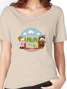Ice Cream Cart  Women's Relaxed Fit T-Shirt