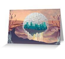 Bubble City Greeting Card
