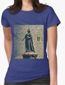 Queen Victoria at Windsor Castle, England Womens Fitted T-Shirt
