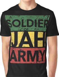 Soldier of JAH Army Graphic T-Shirt