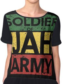 Soldier of JAH Army Chiffon Top