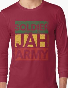 Soldier of JAH Army Long Sleeve T-Shirt