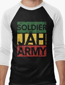 Soldier of JAH Army Men's Baseball ¾ T-Shirt