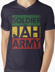 Soldier of JAH Army Mens V-Neck T-Shirt
