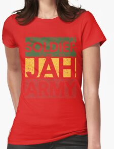 Soldier of JAH Army Womens Fitted T-Shirt