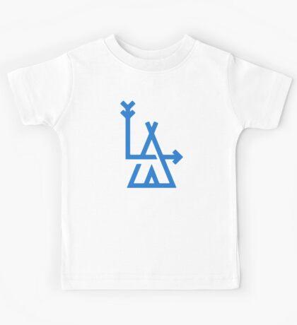 LA - Los Angeles - hipster design Kids Tee
