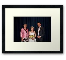 Petts Wood May Queen  Framed Print