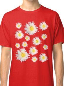 White Succulent Wildflower Classic T-Shirt