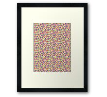 Triangular Pattern 2 Framed Print