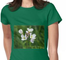 Cuckoo Flowers - Cardamine Pratensis Womens Fitted T-Shirt