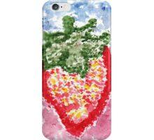 Splashy Strawberry iPhone Case/Skin