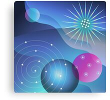 Planetary Party Canvas Print