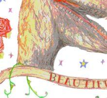 Beautiful Dinosaur  Sticker
