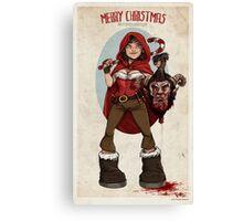 Krampus Slayer Canvas Print
