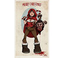 Krampus Slayer Photographic Print