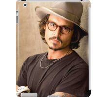 Cool Johnny Depp iPad Case/Skin