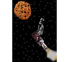 Flying To The Cookie Moon Photographic Print