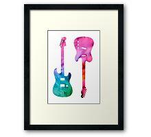 Fender Tele/ Strat Lover Framed Print