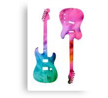 Fender Tele/ Strat Lover Canvas Print