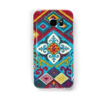 Tribal, Vibrant Color/Shapes Design Samsung Galaxy Case/Skin