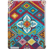 Tribal, Vibrant Color/Shapes Design iPad Case/Skin