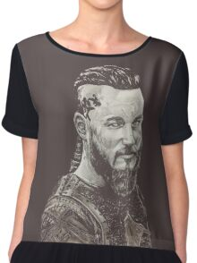 ragnar lothbrok Women's Chiffon Top