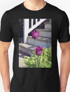 Tulips by the Steps T-Shirt