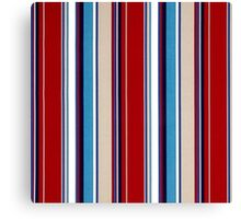 Tribal, Abstract BOLD Stripes, Color Pattern Canvas Print