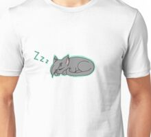 Cute Sleeping Kitty Unisex T-Shirt